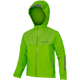Endura MT500 Jacke wasserdicht Kinder neon green